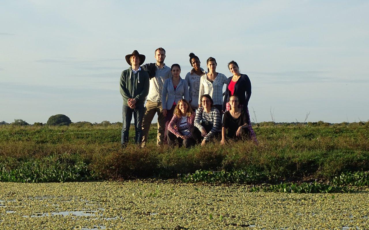 L'équipe de Terra Colombia en voyage dans les Llanos