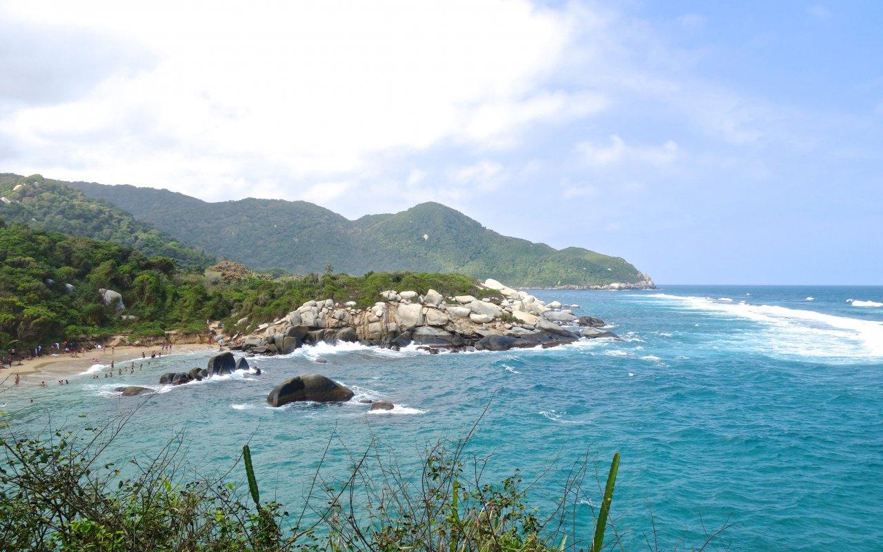 Les plages du Parc de Tayrona