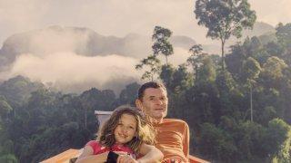 En Famille dans la jungle de Colombie