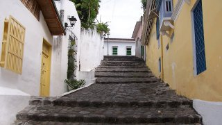 Les ruelles de Honda dans le Tolima