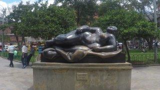 La place Botero à Medellin en Colombie