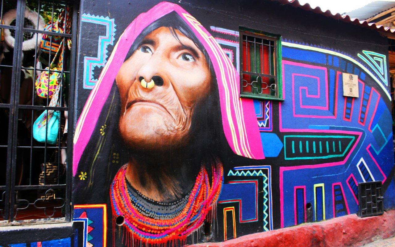 L'un des graffiti incontournable de la ville