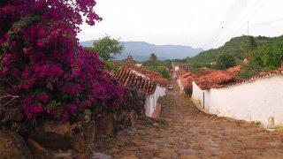 Village de Guane près de Barichara en Colombie