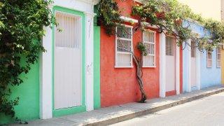 Les ruelles colorées de la belle Carthagène des Indes