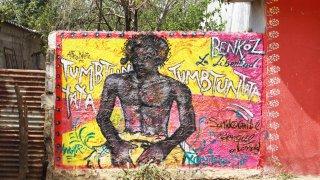 Le street art de la culture afro-colombienne de Palenque