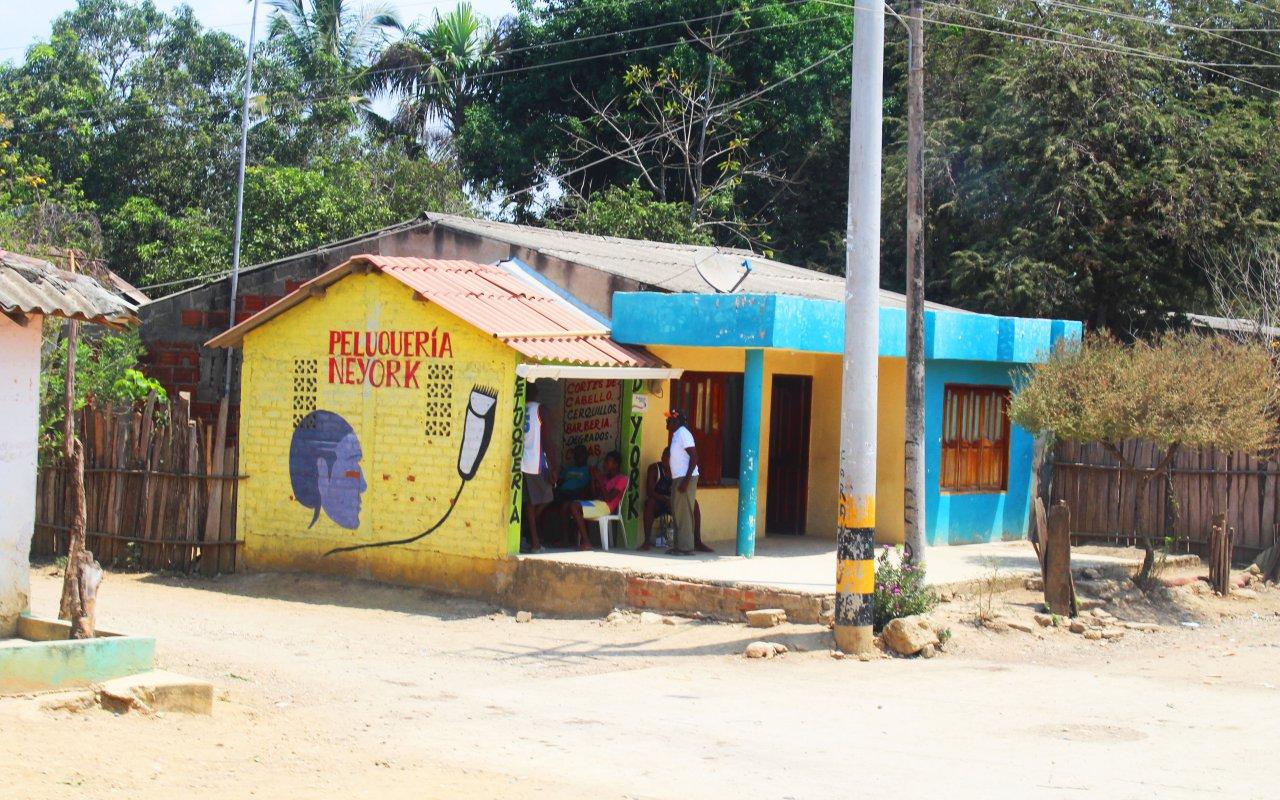 Le fameux coiffeur de San Basilio de Palenque