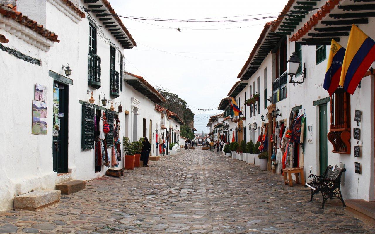 Balade dans les rues de Villa de Leyva