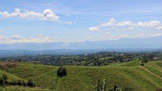Le climat de la région du café en Colombie
