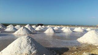 Les salines de Manaure dans la Guajira