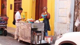La gastronomie caribéenne des rues de Carthagène