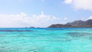 La mer autour de l'île de Providencia