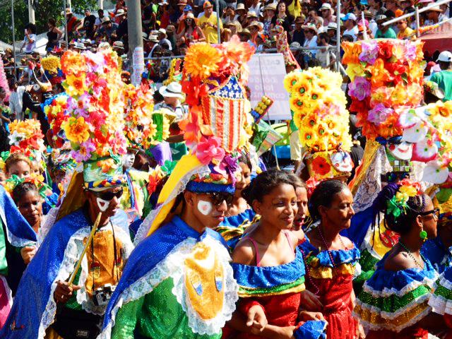 Un défile du Carnaval de Barranquilla