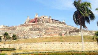 Le Castillo San Felipe de Barajas à Carthagène