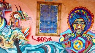 Street art à Bogota