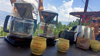 Dégustation de café autour de Medellin