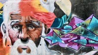 Street art à Medellin en Colombie