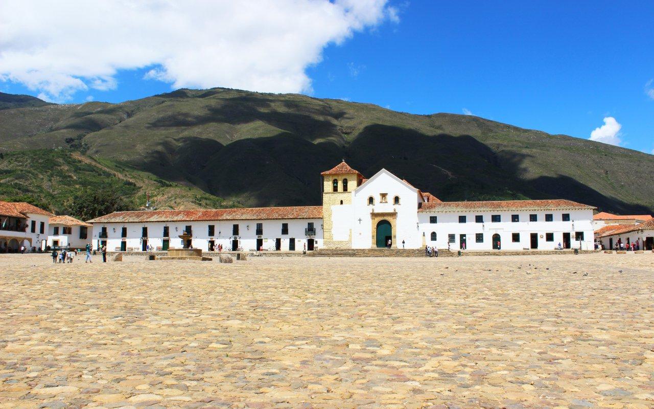Village de Villa de Leyva en Colombie