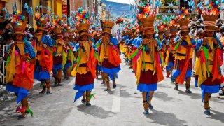 Carnaval Negros y Blancos à San Juan de Pasto en Colombie
