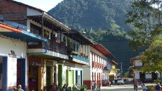 Le village coloré de Jardin en Antioquia en Colombie
