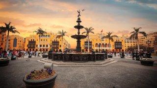 Pace à Lima au Pérou