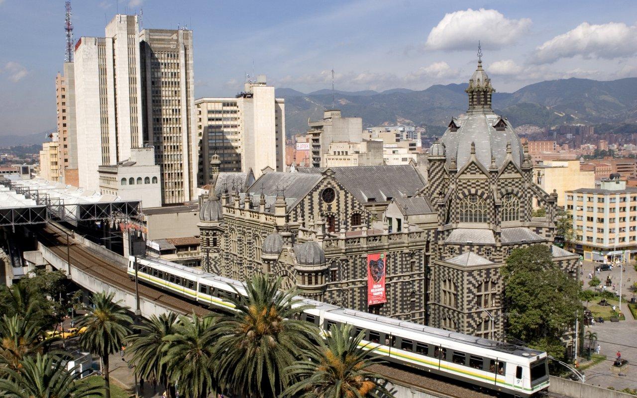 Le métro de Medellin en Colombie