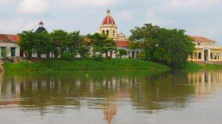 La cienaga de Mompox en Colombie