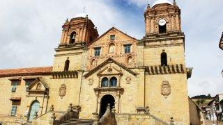 La Basilique Notre Dame de Mongui en Colombie