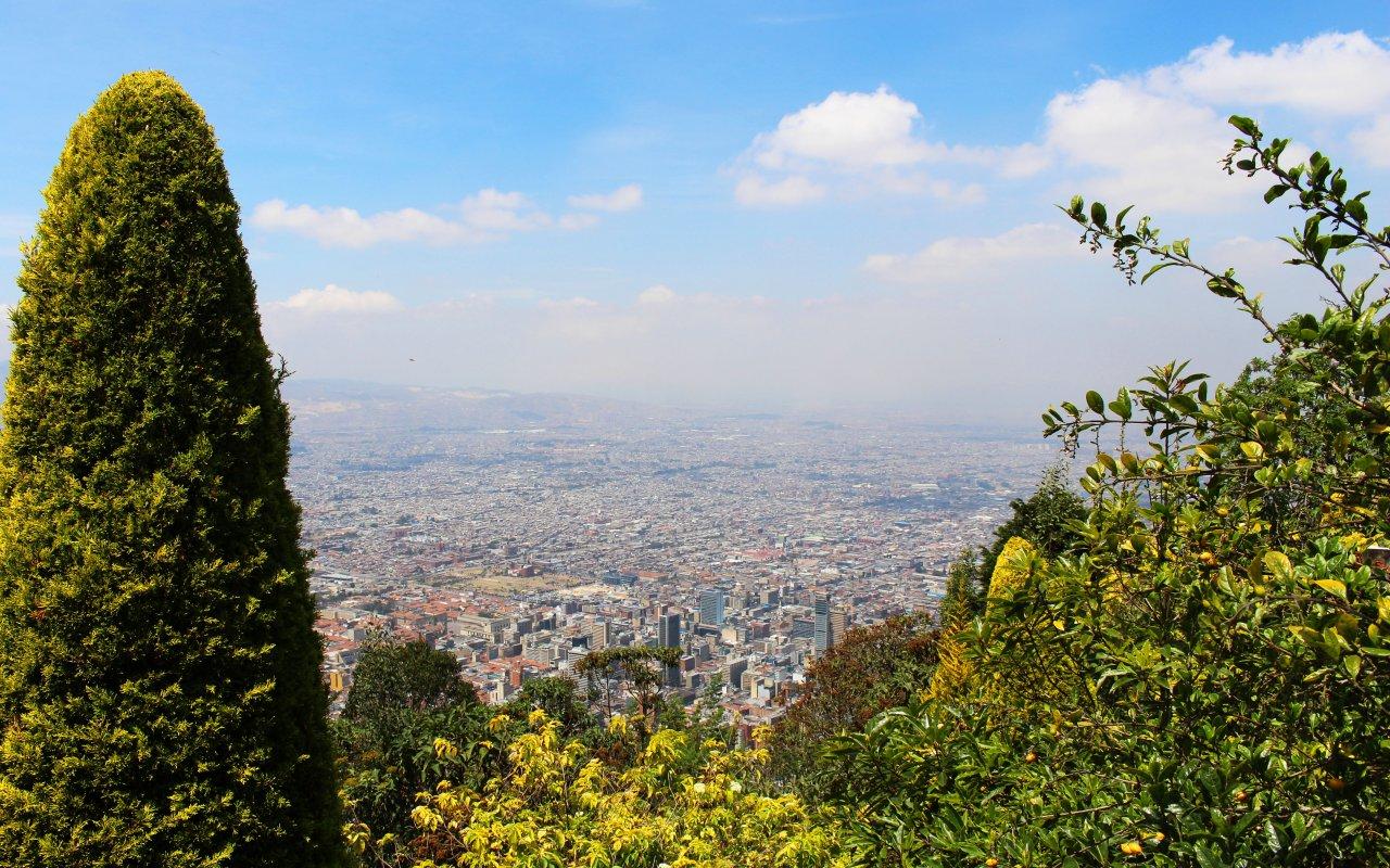 Monserrate à Bogota