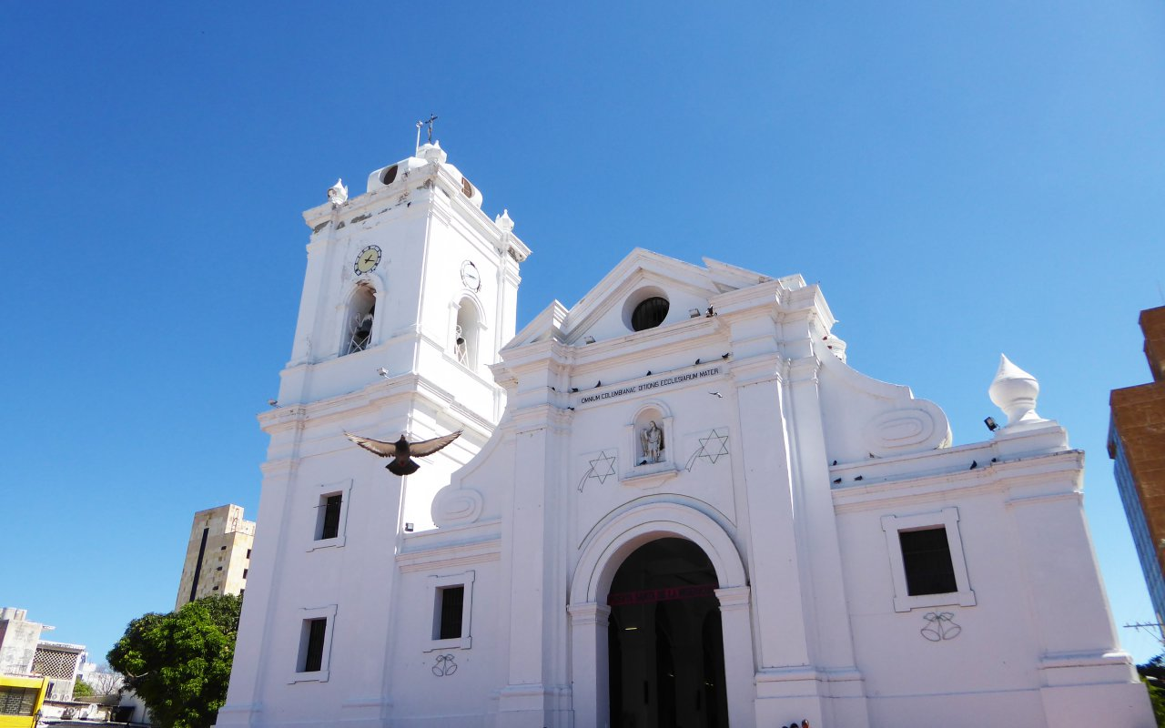 Eglise de Santa Marta en Colombie