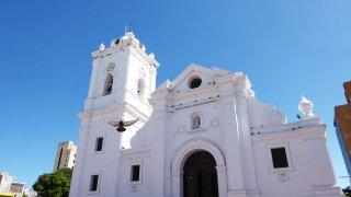 Santa Marta sur la côte Caraïbe colombienne