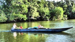 Navigation sur la Cienaga en Colombie