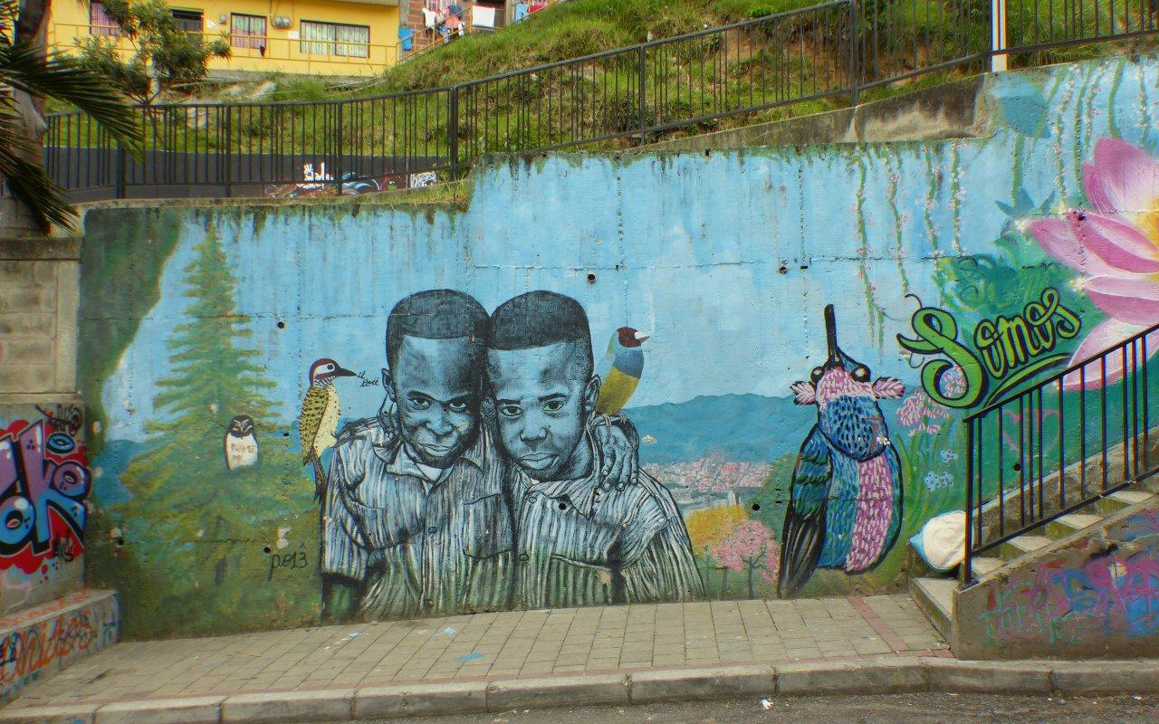 Le street art à Medellin