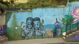 Le street art en Colombie