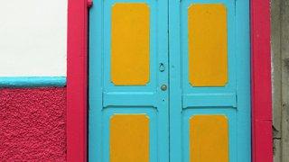 Les portes colorées de Salamina