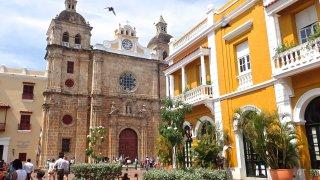L'église San Pedro Claver à Carthagène des Indes