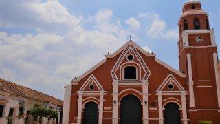L'église et le couvent de San Fransisco à Mompox