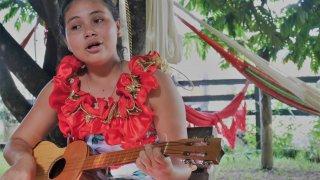Jeune chanteuse des Llanos