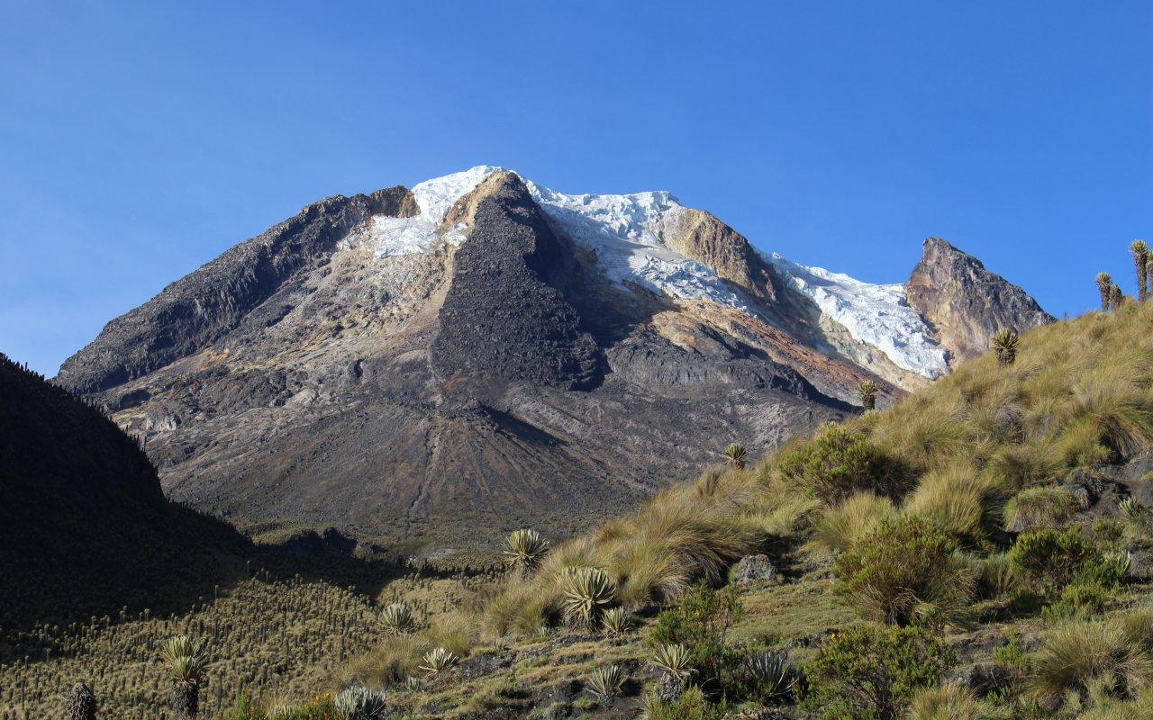 Sommet du parc naturel de los Nevados