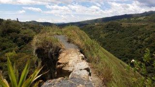 Randonée du paso del Angel à Villa del Leyva en Colombie