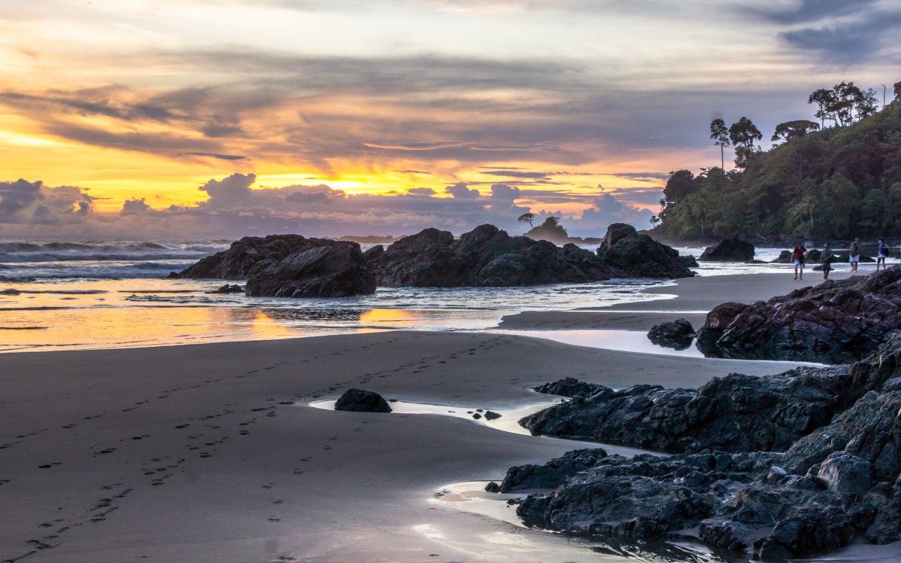 Les plages du Choco sur la Côte Pacifique