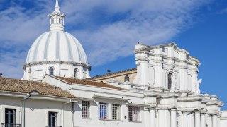 La Cathédrale Basilique de Popayan en Colombie