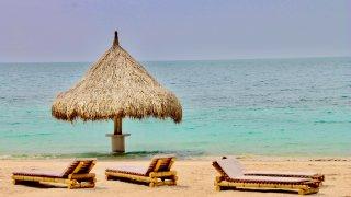 Les plages paradisiaques des iles du Rosaire dans les Caraïbes