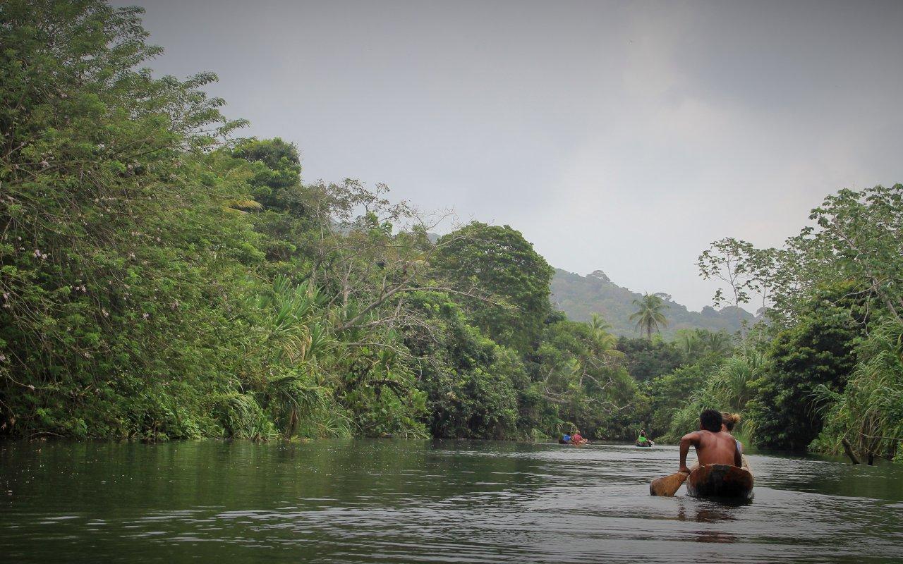 Les rivieres du Darien en Colombie