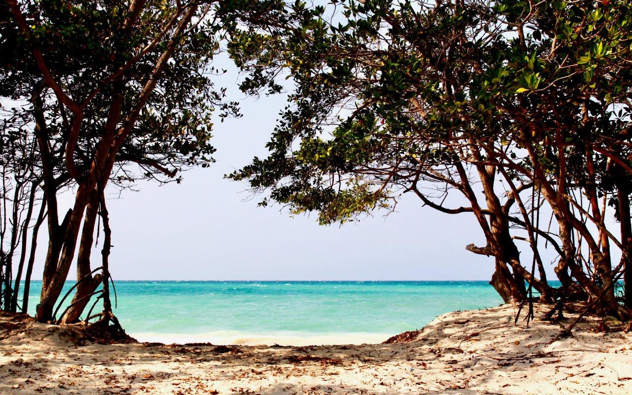 Les plages des îles du Rosaire dans les Caraïbes colombiennes