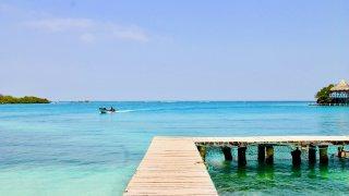 Les iles du Rosaire dans les caraïbes colombiennes