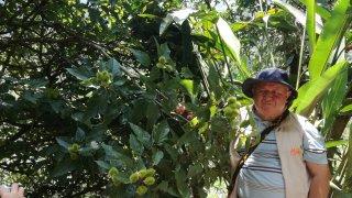 Fabio guide à San Augustin en Colombie
