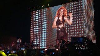 Concert de Shakira à Bogota