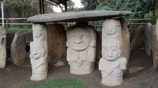 Les statues du site archéologique de San Augustin