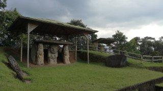 Site archéologique de San Augustin en Colombie