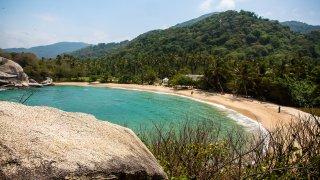 Le Pars Tayrona, plages et forêt tropicale en Colombie